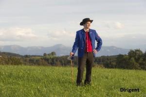 Musikkappelle Obereisenbach 2015, Klarinetten und Posaunen, neue Dirigent